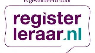 Training gevalideerd door Registerleraar
