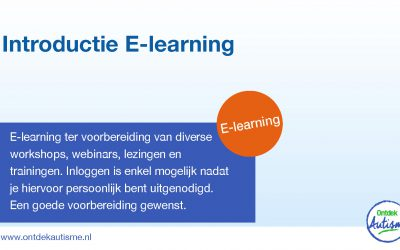 Introductie e-learning